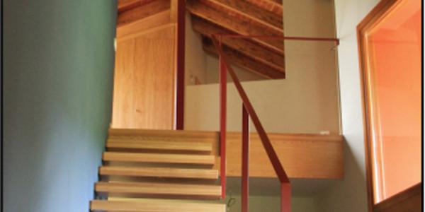 Interior hueco escalera