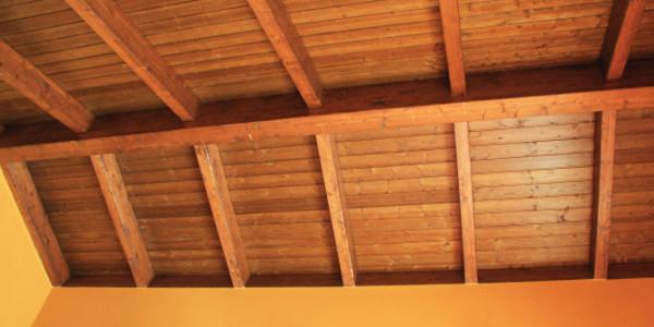 detalle interior tejado