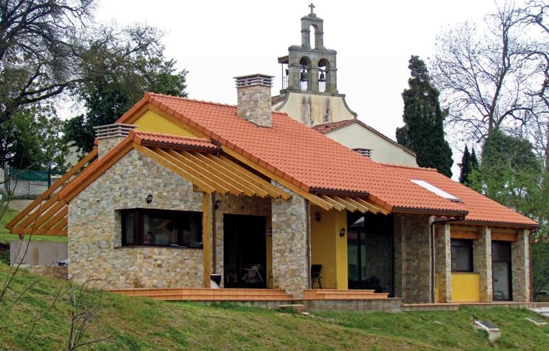 Vista exterior fachada principal