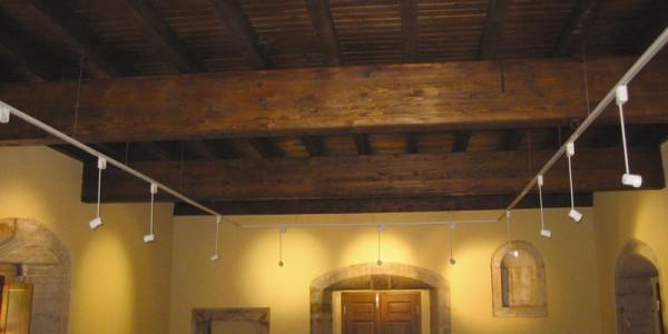 Vigas y techo madera Casa Barcena
