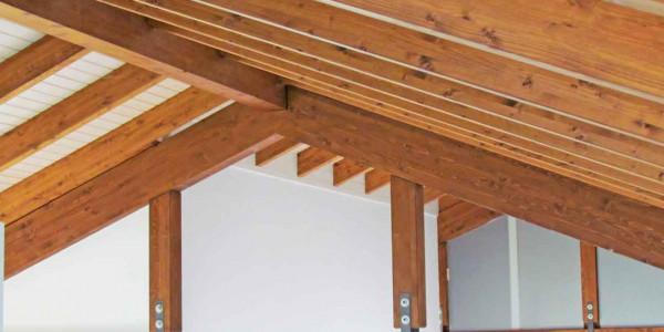 Estructura tejado interior