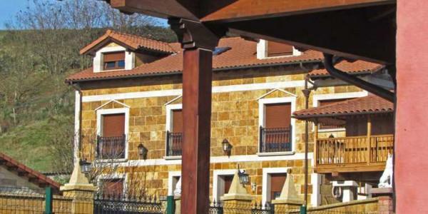 vista unión pilares porche