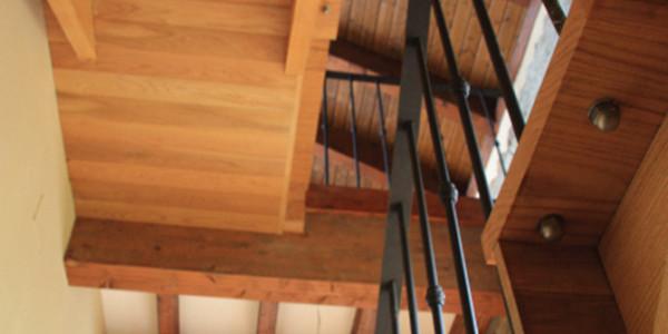 Hueco escalera Casa la Arquera