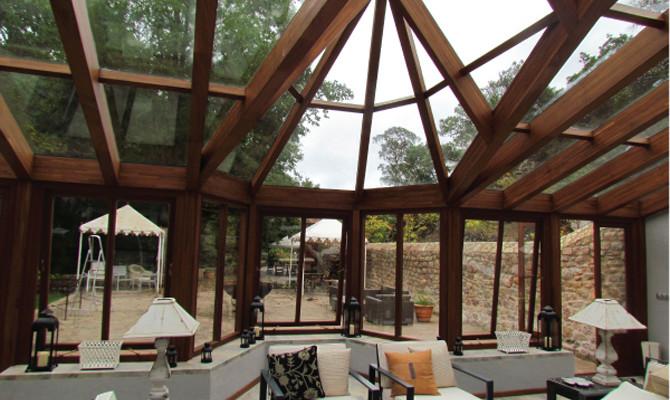 Interior vista estructura Pabellón El molino