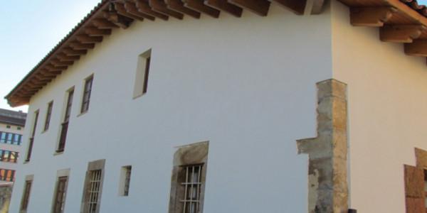Fachada lateral Casona La Soledad
