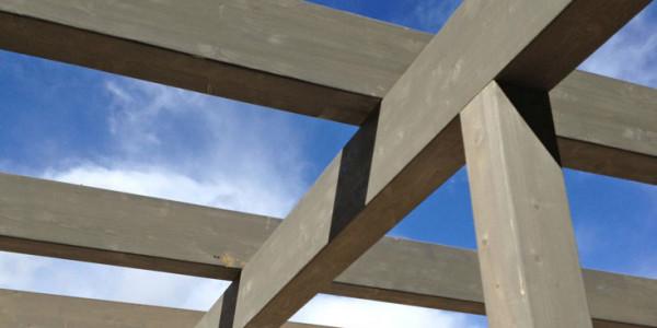 Estructura exterior pabellón