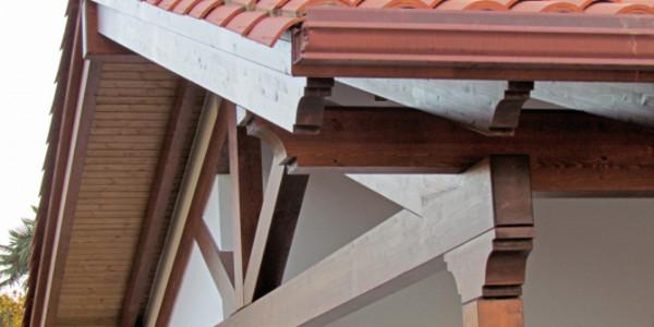 detalle estructura porche