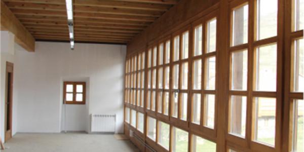 Galería vista interior Casona Campomanes