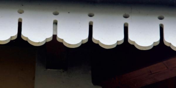 Adornos tejado La Arquera