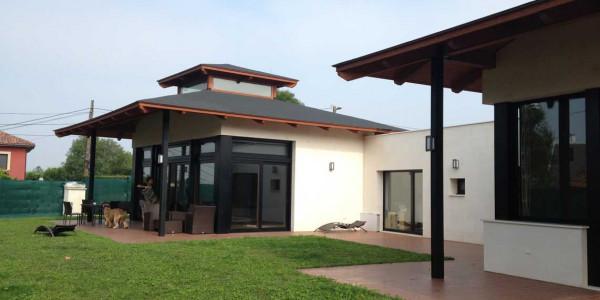 Vista lateral Casa la Providencia