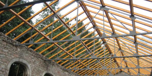 Interior forjado techo