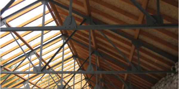interior forjado y cubierta techo