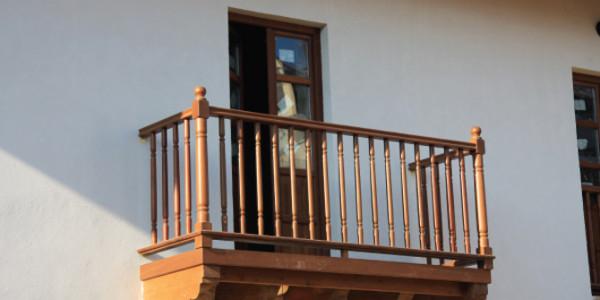 Balcón exterior Casona l a Soledad