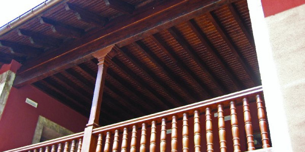 galería corredor casa Barcena